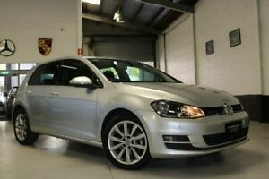 2014 Volkswagen Golf VII MY14 103TSI DSG Highline Silver 7 Speed Sports Automatic Dual Clutch West Melbourne Melbourne City Preview
