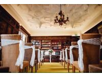 Chair Sashes x 100 - White lace.