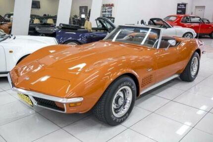 1972 Chevrolet Corvette Stingray Ontario Orange Automatic Roadster