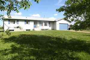 Acreage East of Sherwood Park, Beautiful home and view
