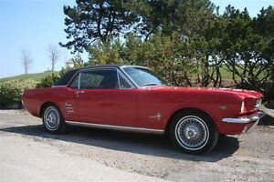 "1966 Mustang Coupe - 289 ""A code"""