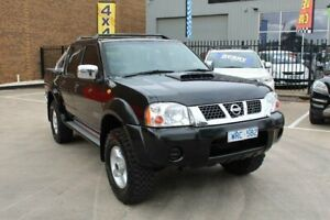 2008 Nissan Navara D22 MY08 ST-R (4x4) Black 5 Speed Manual Dual Cab Pick-up Hoppers Crossing Wyndham Area Preview