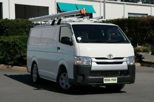 2017 Toyota HiAce KDH201R LWB French Vanilla 4 Speed Automatic Van Acacia Ridge Brisbane South West Preview