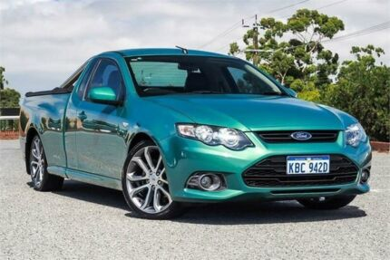 2012 Ford Falcon FG MkII XR6 Ute Super Cab Limited Edition Green 6 Speed Manual Utility Wangara Wanneroo Area Preview