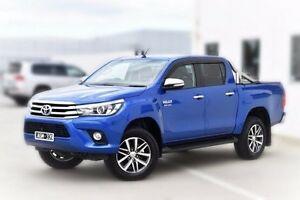 2016 Toyota Hilux GUN126R SR5 Double Cab Blue 6 Speed Sports Automatic Utility Pakenham Cardinia Area Preview