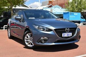 2015 Mazda 3 BM5278 Touring SKYACTIV-Drive Blue 6 Speed Sports Automatic Sedan Fremantle Fremantle Area Preview