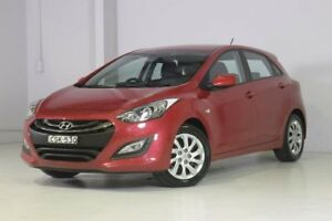2013 Hyundai i30 GD2 Active Red 6 Speed Manual Hatchback