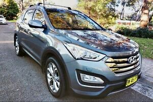 2013 Hyundai Santa Fe DM MY13 Highlander Grey 6 Speed Sports Automatic Wagon Haymarket Inner Sydney Preview