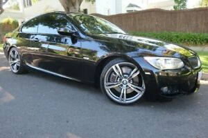 2011 BMW 3 Series E92 MY0911 335i D-CT M Sport Black 7 Speed Sports Automatic Dual Clutch Coupe Prospect Prospect Area Preview