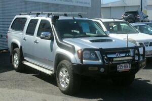 2010 Holden Colorado RC MY10.5 LT-R Crew Cab Silver 5 Speed Manual Utility Portsmith Cairns City Preview