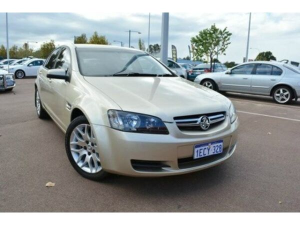 2008 Holden Commodore VE MY09 60TH Anniversary Gold 4 Speed Automatic Sedan