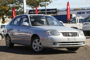 2006 Hyundai Accent LC MY04 GL Silver 4 Speed Automatic Hatchback Moorooka Brisbane South West Preview
