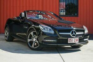 2015 Mercedes-Benz SLK250 R172 805MY 7G-Tronic + Black 7 Speed Automatic Roadster Molendinar Gold Coast City Preview