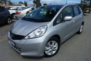 2012 Honda Jazz GE MY12 Vibe Silver 5 Speed Automatic Hatchback Heatherton Kingston Area Preview