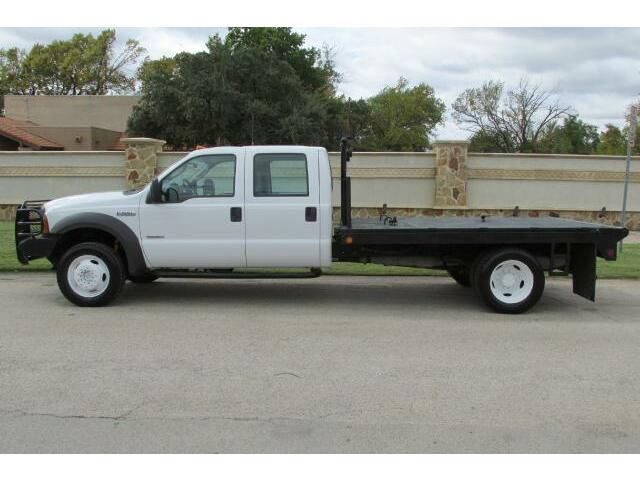 2005 F550 Flatbed 4x4 Powerstroke Diesel Crew Cab - Used Ford Other Pickups for sale in ...