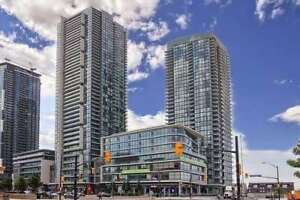 City Centre / 1 Bed + Den Condo / 1 Parking And 1 Locker