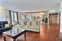 Large, well lit, condo in downtown, Montreal
