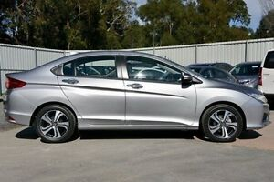 2016 Honda City Silver Constant Variable Sedan Ferntree Gully Knox Area Preview