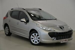 2009 Peugeot 207 A7 XT Silver 4 Speed Sports Automatic Hatchback Mansfield Brisbane South East Preview