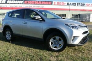 2016 Toyota RAV4 ZSA42R GX 2WD Silver 7 Speed Constant Variable Wagon Eagle Farm Brisbane North East Preview