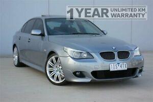 2005 BMW 550i E60 Grey 6 Speed Auto Steptronic Sedan Carrum Downs Frankston Area Preview