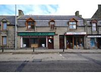 60 High Street, Fraserburgh, Shop currently with Offices or potential 2 Bed Flat on 1st Floor