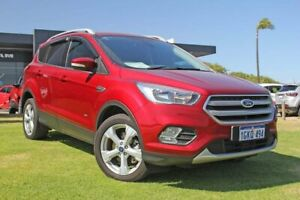 2017 Ford Escape ZG Trend AWD Red 6 Speed Sports Automatic Wagon Wangara Wanneroo Area Preview