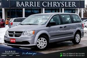 2016 Dodge Grand Caravan SE ***CANADIAN VALUE PACKAGE***