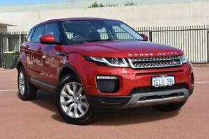 2018 Land Rover Range Rover Evoque L538 MY18 TD4 150 SE Red 9 Speed Sports Automatic Wagon Fremantle Fremantle Area Preview