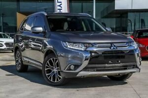 2016 Mitsubishi Outlander ZK MY16 Exceed 4WD Grey 6 Speed Sports Automatic Wagon Aspley Brisbane North East Preview
