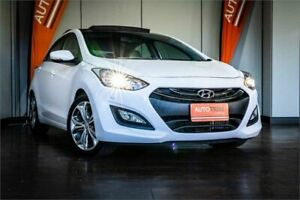 2014 Hyundai i30 GD MY14 Premium White 6 Speed Sports Automatic Hatchback West Perth Perth City Area Preview