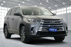 2017 Toyota Kluger GSU55R GXL AWD Grey 8 Speed Sports Automatic Wagon Victoria Park Victoria Park Area Preview
