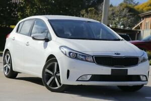 2017 Kia Cerato YD MY17 Sport White 6 Speed Sports Automatic Hatchback East Toowoomba Toowoomba City Preview