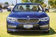 2018 BMW 520i G30 Luxury Line Steptronic Blue 8 Speed Sports Automatic Sedan Burswood Victoria Park Area Preview