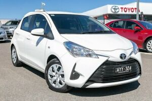 2019 Toyota Yaris NCP130R Ascent White 4 Speed Automatic Hatchback Dandenong Greater Dandenong Preview