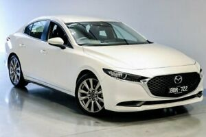 2019 Mazda 3 BP Series G20 Evolve White Sports Automatic South Morang Whittlesea Area Preview