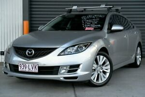 2009 Mazda 6 GH1051 MY09 Classic Silver 6 Speed Manual Hatchback Hendra Brisbane North East Preview