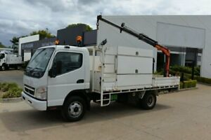 2009 MITSUBISHI FUSO CANTER 7/800 - Service Vehicle - Crane Truck - SN#6073 Acacia Ridge Brisbane South West Preview