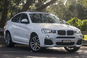 2014 BMW X4 F26 xDrive20i Steptronic Alpine White 8 Speed Automatic Wagon Ringwood East Maroondah Area Preview
