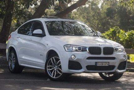 2014 BMW X4 F26 xDrive20i Steptronic Alpine White 8 Speed Automatic Wagon