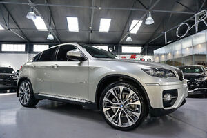 2008 BMW X6 E71 xDrive 35I Mineral Silver 6 Speed Automatic Wagon Port Melbourne Port Phillip Preview