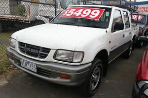 1998 Holden Rodeo TFR7 LT White & Silver 4 Speed Automatic Briar Hill Banyule Area Preview