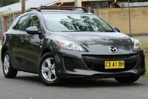 2012 Mazda 3 BL10F2 Neo Activematic Grey 5 Speed Sports Automatic Hatchback Lansvale Liverpool Area Preview