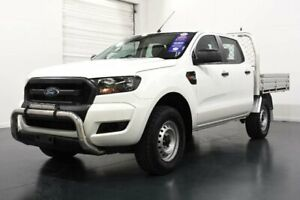 2016 Ford Ranger PX MkII XL 3.2 (4x4) White 6 Speed Automatic Crew Cab Chassis Oakleigh Monash Area Preview