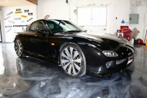 2001 Mazda RX7 Black Manual Coupe