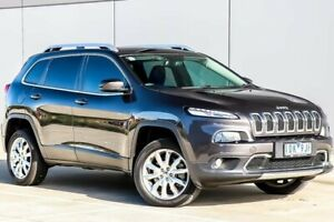 2015 Jeep Cherokee KL Limited Grey Sports Automatic Pakenham Cardinia Area Preview