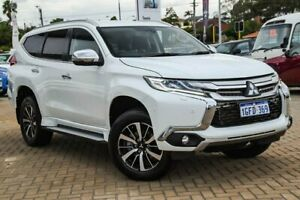 2017 Mitsubishi Pajero Sport QE MY17 Exceed White 8 Speed Sports Automatic Wagon Morley Bayswater Area Preview
