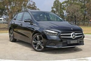 2019 Mercedes-Benz B-Class W247 B180 DCT Black 7 Speed Sports Automatic Dual Clutch Hatchback Melbourne Airport Hume Area Preview