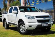 2014 Holden Colorado RG MY14 LX Crew Cab White 6 Speed Sports Automatic Utility Wangara Wanneroo Area Preview