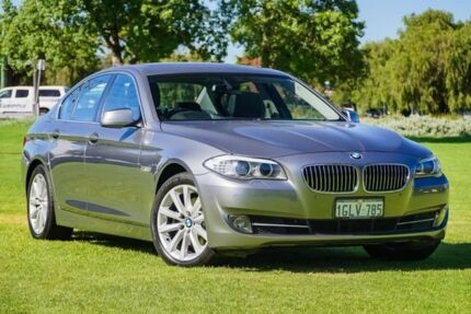 2011 BMW 528I F10 MY0911 Steptronic Grey 8 Speed Sports Automatic Sedan Victoria Park Victoria Park Area Preview